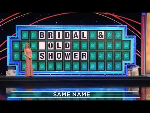 Houston - WATCH: Wheel Of Fortune Gold Shower Goof