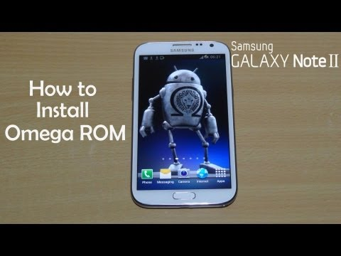Omega ROM for Galaxy Note 2 (Note II) GT-N7100 - How to Install - Cursed4Eva