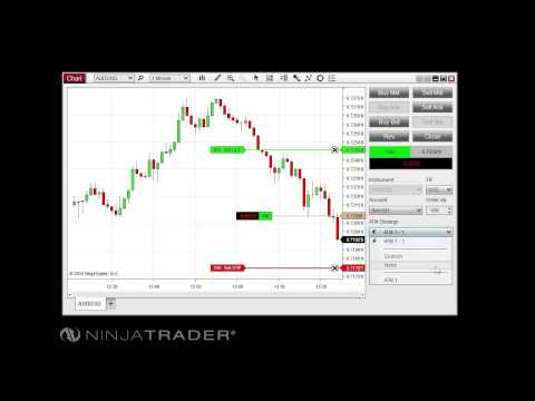 NinjaTrader 8 – Advanced Trade Management Overview