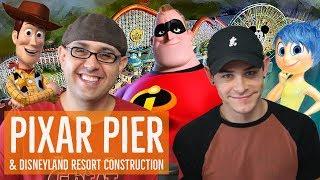 Disney Podcast - PIXAR PIER, NEW DISNEYLAND HOTEL, RUNDISNEY  - Dizney Coast to Coast - Ep. 442