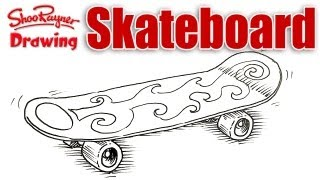 How to draw a Skateboard - Spoken Tutorial