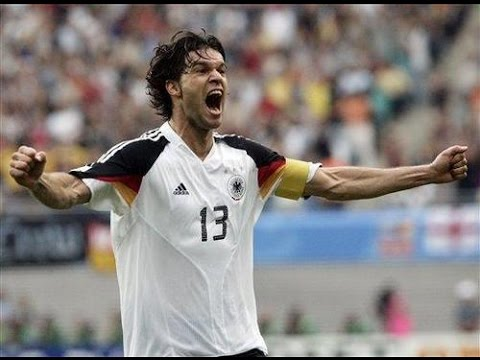 """Michael Ballack - All 42 goals for Germany (1999-2010) """"Die letzte Capitano"""""""