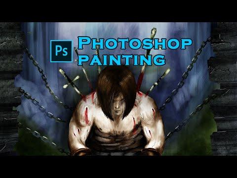 Concept art Tutorial   Photoshop Painting   Speed painting   Digital art