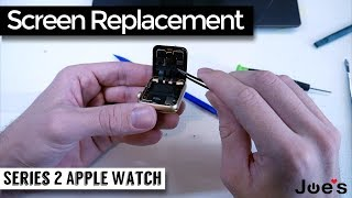 How to Replace Display Screen Glass on iWatch Series 2 Apple Watch JoesGE