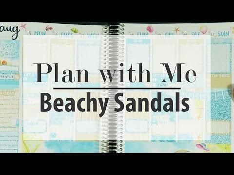 Plan with Me | Beachy Sandals (Caress Press)