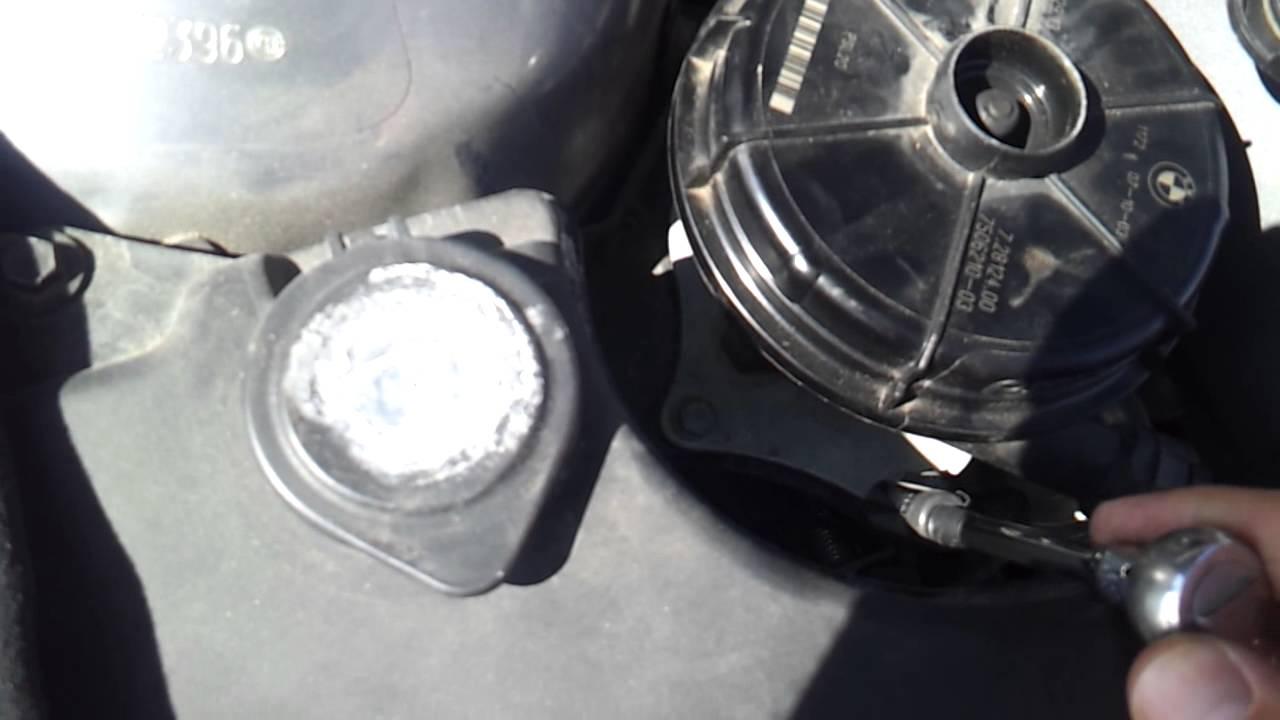 bmw e46 secondary air pump removal