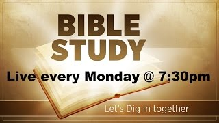 Bible Study - 24 October 2016 (We Are A Chosen Generation)