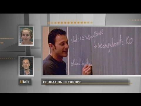 euronews U talk - Education in Europe