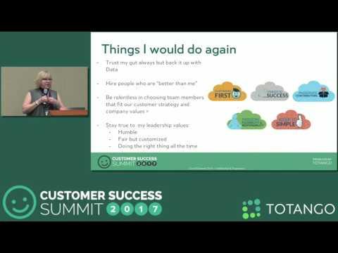 [Track 3] Building a Customer Success Organization All Over Again - Customer Success Summit 2017