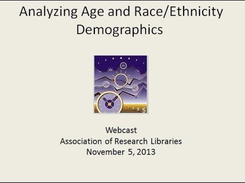 Analyzing Age and Race/Ethnicity Demographics