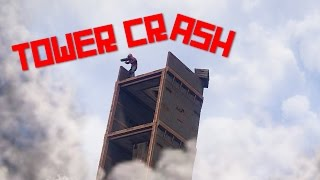 RUST | TOWER CRASH | Rocket raiding game event - Shadowfrax