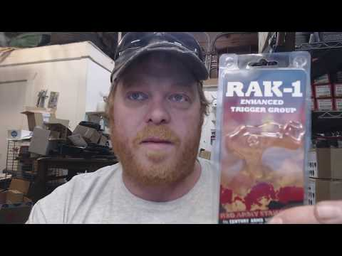 I was WRONG About the Century RAK-1 AK 47 Trigger - YouTube