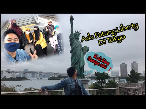 PATUNG LIBERTY | Di Tokyo JEPANG | Kok bisa sampe ke sini ya ‼️