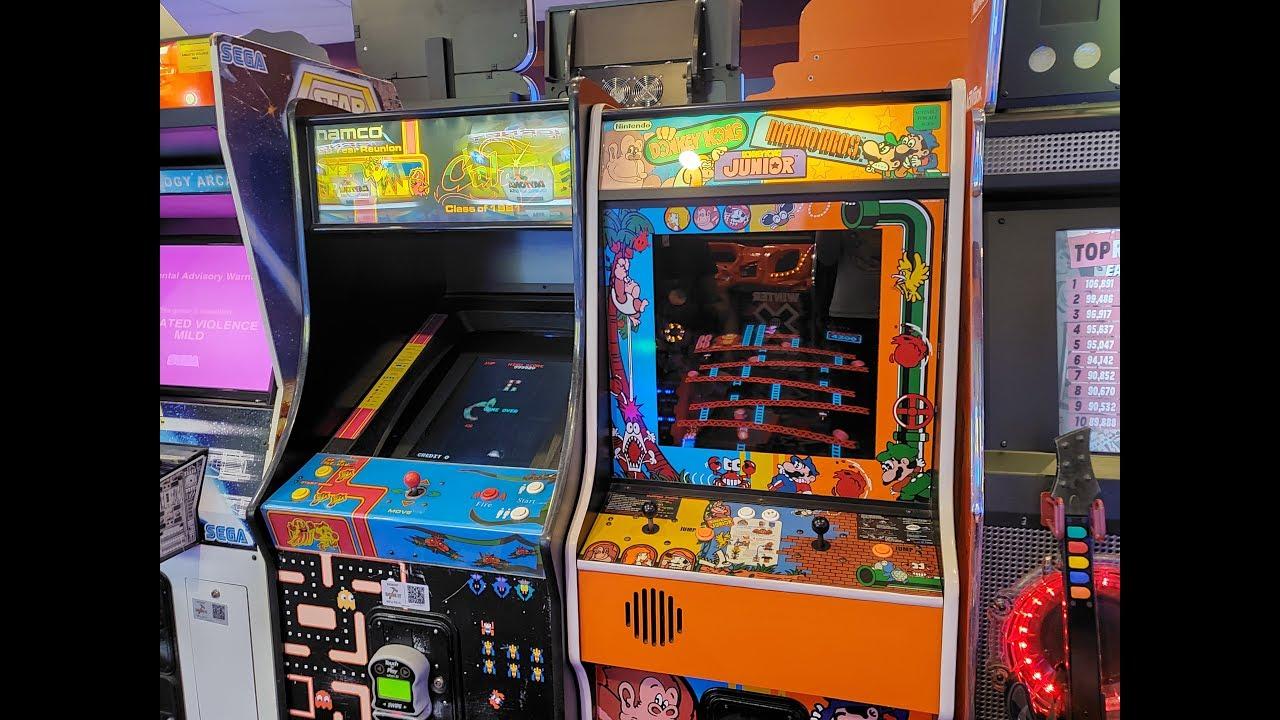 Donkey Kong Donkey Kong Jr Mario Bros Arcade Review Combo