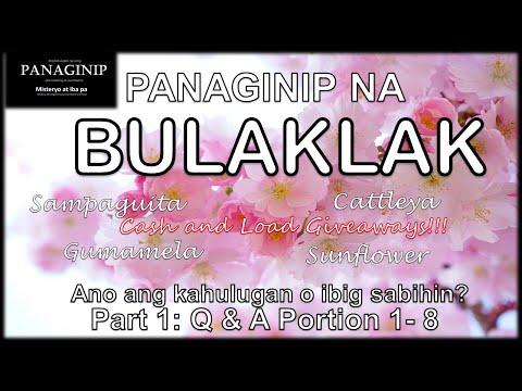 Anong ibig sabihin | kahulugan sa Panaginip na Bulaklak - Flower Dream Meaning