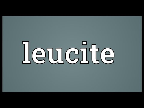 Header of leucite