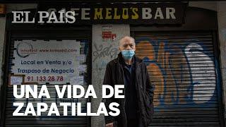 """Las últimas ZAPATILLAS del MELO'S: """"Es muy duro irse, pero no queda otro remedio""""   MADRID"""