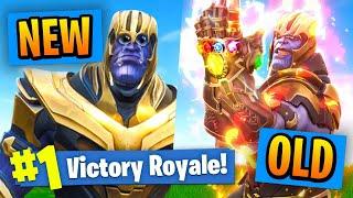 NEW VS OLD Thanos In Fortnite Battle Royale! thumbnail