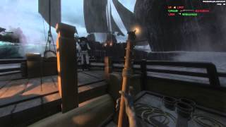 BlackWake Early Test Build - The Storm Of BLOOD!