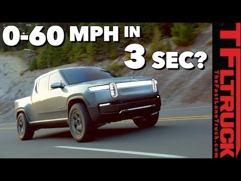 Watch Out Tesla! Rivian R1T is a Crew Cab Electric Truck With Mind-bending Specs