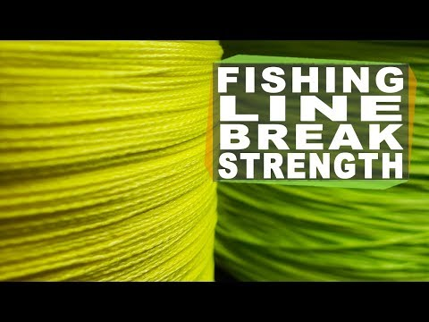ACTUAL Fishing Line Strength - What Do You Need To Tag Your Highlines?