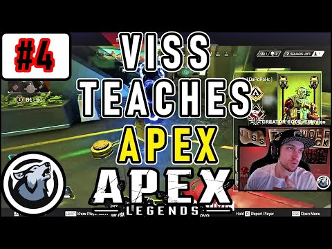 VISS TEACHES APEX #4 USE DIFFERENT STRATEGIES TO WIN!  APEX LEGENDS SEASON 3