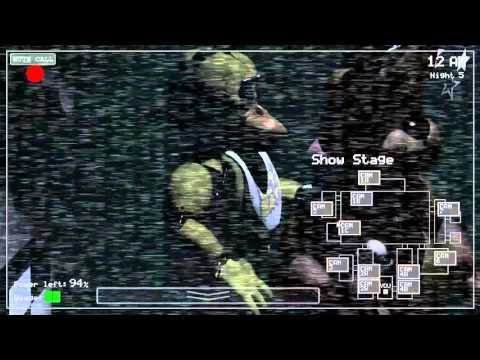 SGB Five Nights At Freddy's Trilogy: Funny/Scary Moments