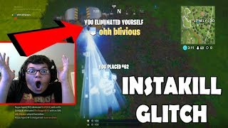 LONELY LODGE INSTAKILL GLITCH SPOT SEASON 5 FORTNITE! (Fortnite: Battle Royale Season 5 Glitch)