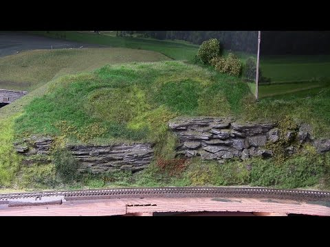 Model Railroad Update 57- Scenic ground cover & details