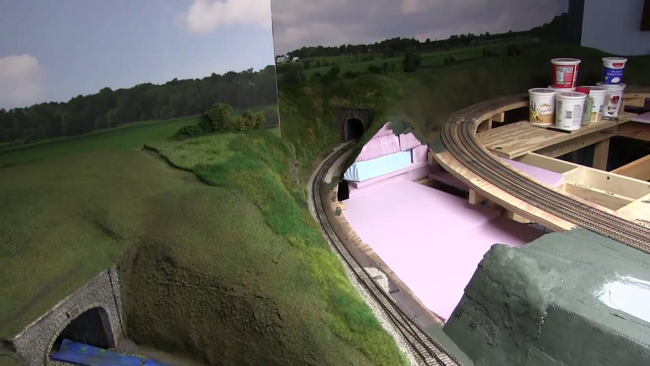 Model Railroad Update 57- Scenic Ground Cover & Details  Stephen Bennett  20:06 HD