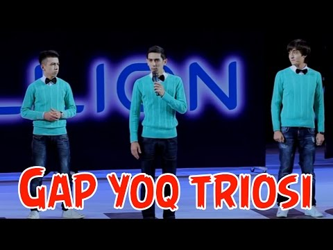 Gap yoq triosi (Million konsertidan 2013)