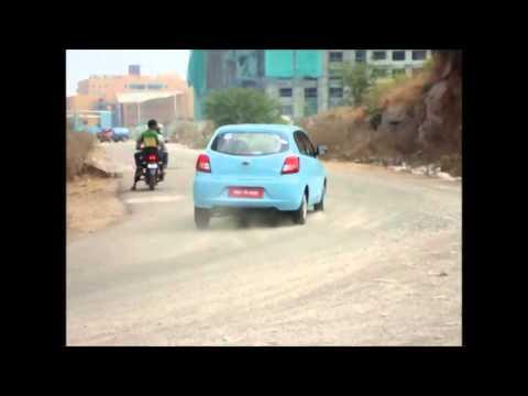 Datsun Go: Slalom Test