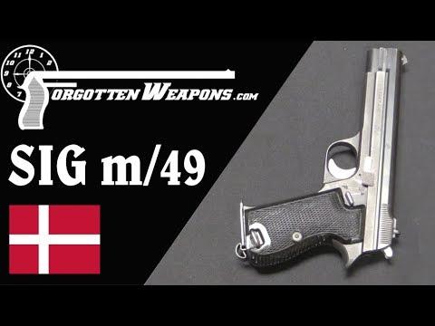 Danish m/49 Service Pistol by SIG