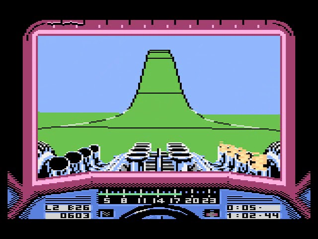 Atari 8-bit - Stunt Car Racer (game)