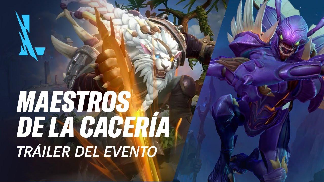 Maestros de la Cacería | Tráiler oficial del evento - League of Legends: Wild Rift