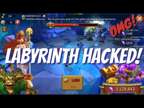 Labyrinth Hacked! - Lords Mobile
