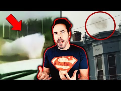 5 Mysterious Clouds & Strange Caught On Camera Moments! Girl Sees Cloud Fall From Sky...