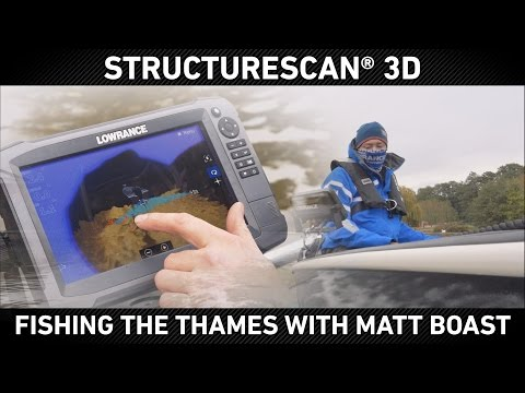 Fishing the Thames with Matt Boast and StructureScan 3D