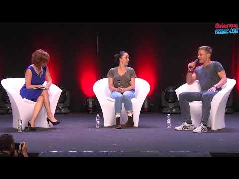 Aniventure Comic Con 2017  Keisha CastleHughes and Tom Wlaschiha panel