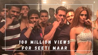 A Million Thanks for 100 Million Seeti Maar - Rockstar DSP | Devi Sri Prasad, Salman Khan,Prabhudeva
