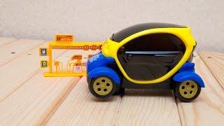 Машинки мультфильм - Мир машинок - 125 серия:  Электромобиль. Развивающий мультик для детей.(Развивающие мультики для самых маленьких с участием машинок обязательно заинтересует малышей. В новой..., 2016-08-16T21:16:36.000Z)