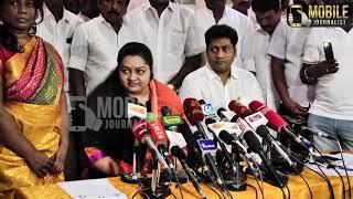 ஜெ.தீபா திடீர் பல்டி..! | J.Deepa Support ADMK Alliance | J.Deepa Latest Press Meet | Election2019