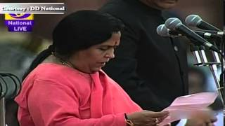 Ms Uma Bharti sworn-in as Cabinet Minister in new Government