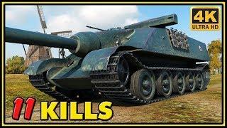 AMX 50 Foch - 11 Kills - World of Tanks Gameplay - 4K Ultra HD Video