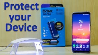 Protect Your Galaxy S9/ S9+! WhiteStone Dome Glass Installation and scratch test