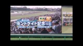 2012 セントライト記念(GⅡ)全く新しい競馬実戦動画!!