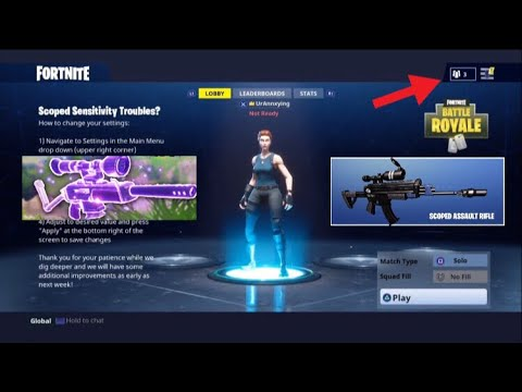 Fortnite how to change resolution