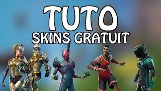 'NEW' [TUTO] HAVE SKINS FOR FREE ON FORTNITE!