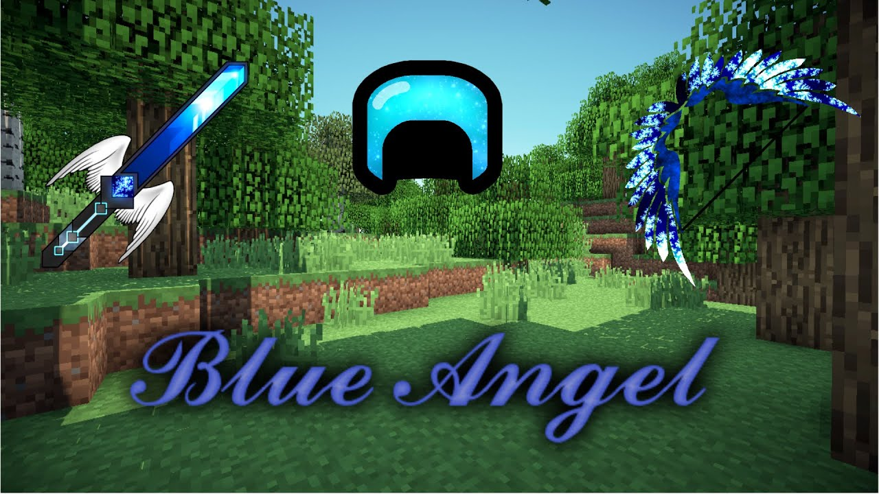 Minecraft PvP Texture Pack | Blue Angel | By : ExPliZiT ...