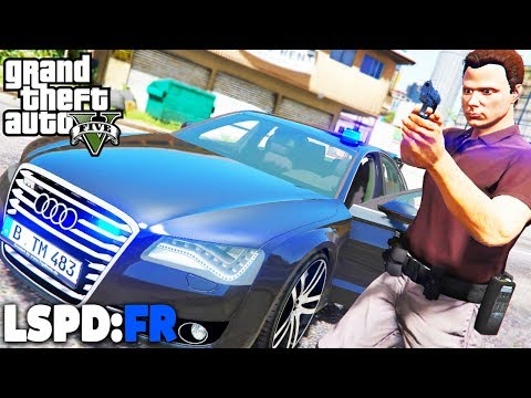 GTA 5 LSPD:FR - Kriminalpolizei in Los Santos  - Deutsch - Polizei Mod #61 Grand Theft Auto V